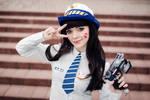 Officer D.Va cosplay - Overwatch by IraNyaaasha