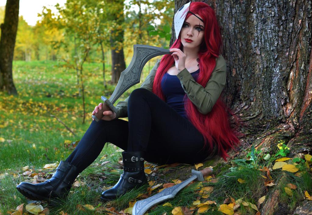 Katarina Voorhees by IraNyaaasha