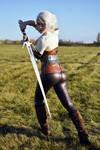Outdoor Ciri cosplay - Witcher 3