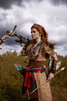One more pic of my Aloy cosplay