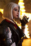Ashe from Overwatch cosplay