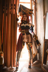 My Captain Miss Fortune cosplay