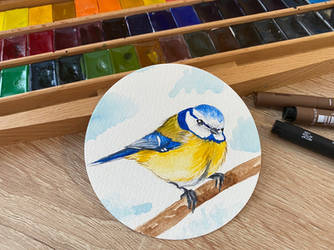 My another bird drawing