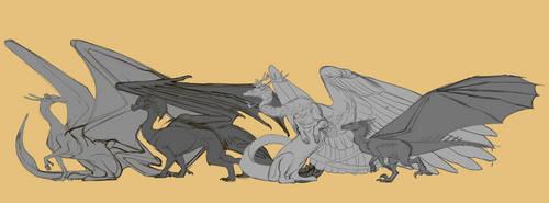 Dragons of Tarth: Standard Class by Cinnabonyx