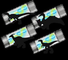 JWO: Dinosaur Companion batch 1 by Cinnabonyx
