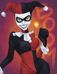Harley Quinn by deegarr