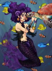 Phantazmic Mermaid by deegarr