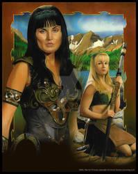 Warrior and Bard by MJasonReed