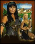Warrior and Bard