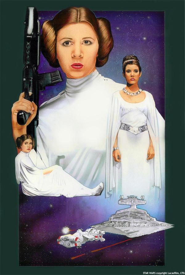 Princess Leia- A New Hope by MJasonReed on DeviantArt How Old Was Princess Leia In A New Hope