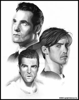 HEROES: The Brothers Petrelli