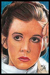 ESB Leia Sketch Card