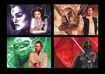 Topps Star Wars GALACTIC FILES Puzzles 1