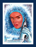 Topps Star Wars GALACTIC FILES Snow Bunny Padme