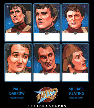 Unstoppable Cards BLAKES 7 Series 1 Batch #2 by MJasonReed