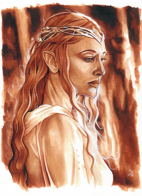 Galadriel, Lady of Lothlorien by MJasonReed