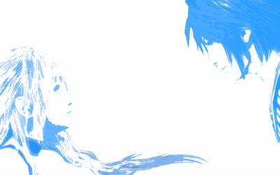 Serah and Noel by fleeting-flash