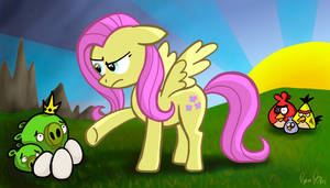 Fluttershy Sets Things Right