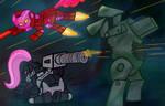 IronPinkie Flutter-War Team Up