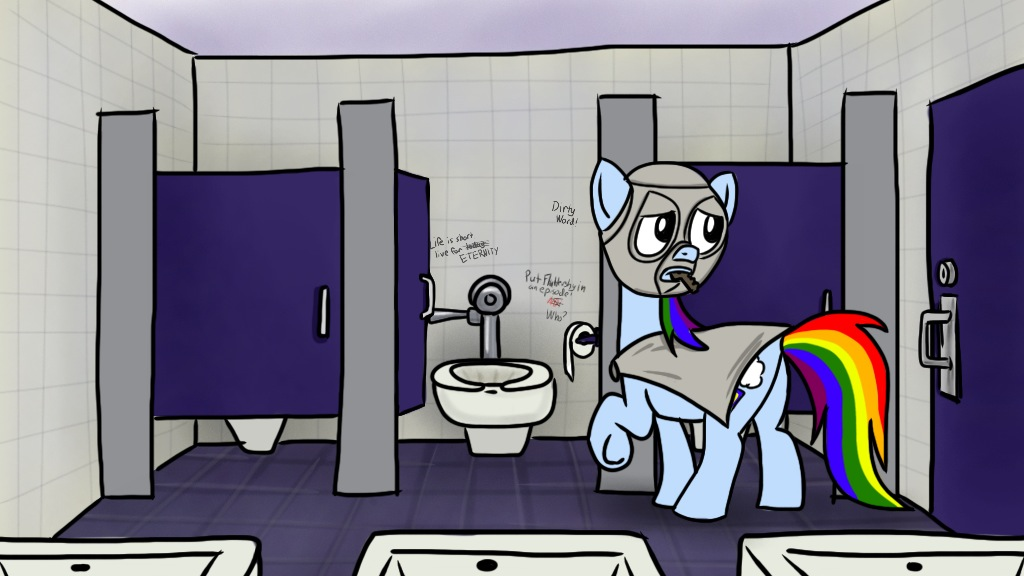 Rainbow Factory 35 Stalling In The Stall By Petirep On DeviantArt