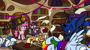 Haunting Nightmare 12 - Enter Luna by petirep
