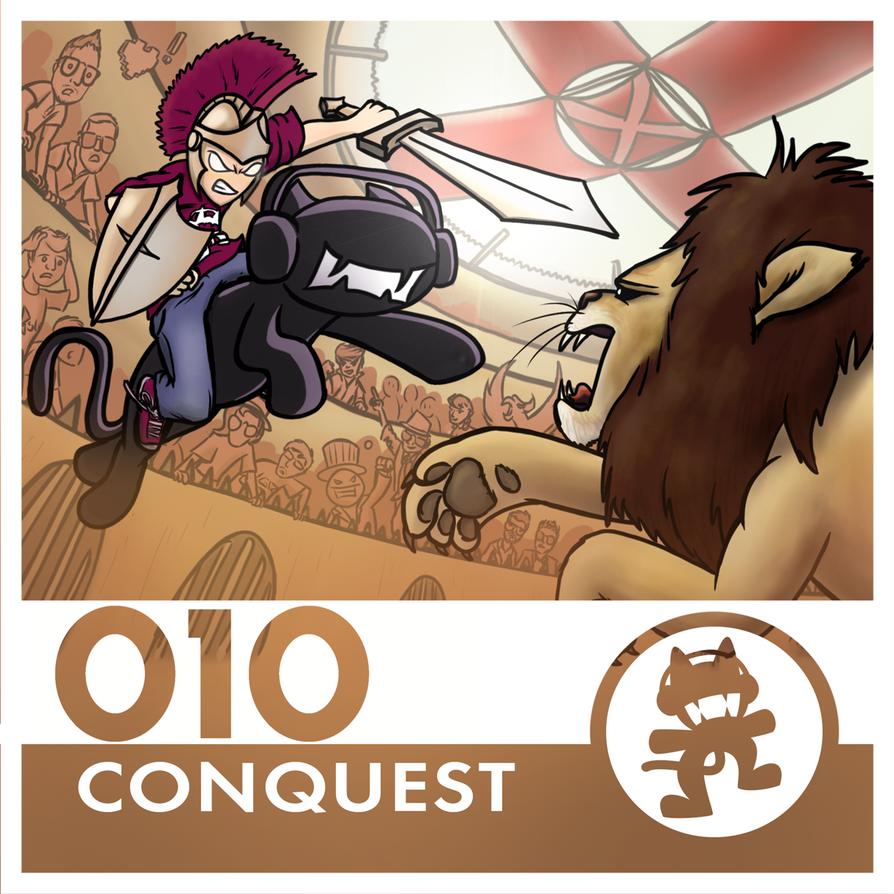 Monstercat Album Cover 010: Conquest by petirep