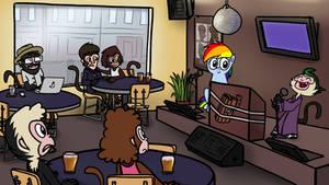 My Little Dashie 28 - Karaoke Bar