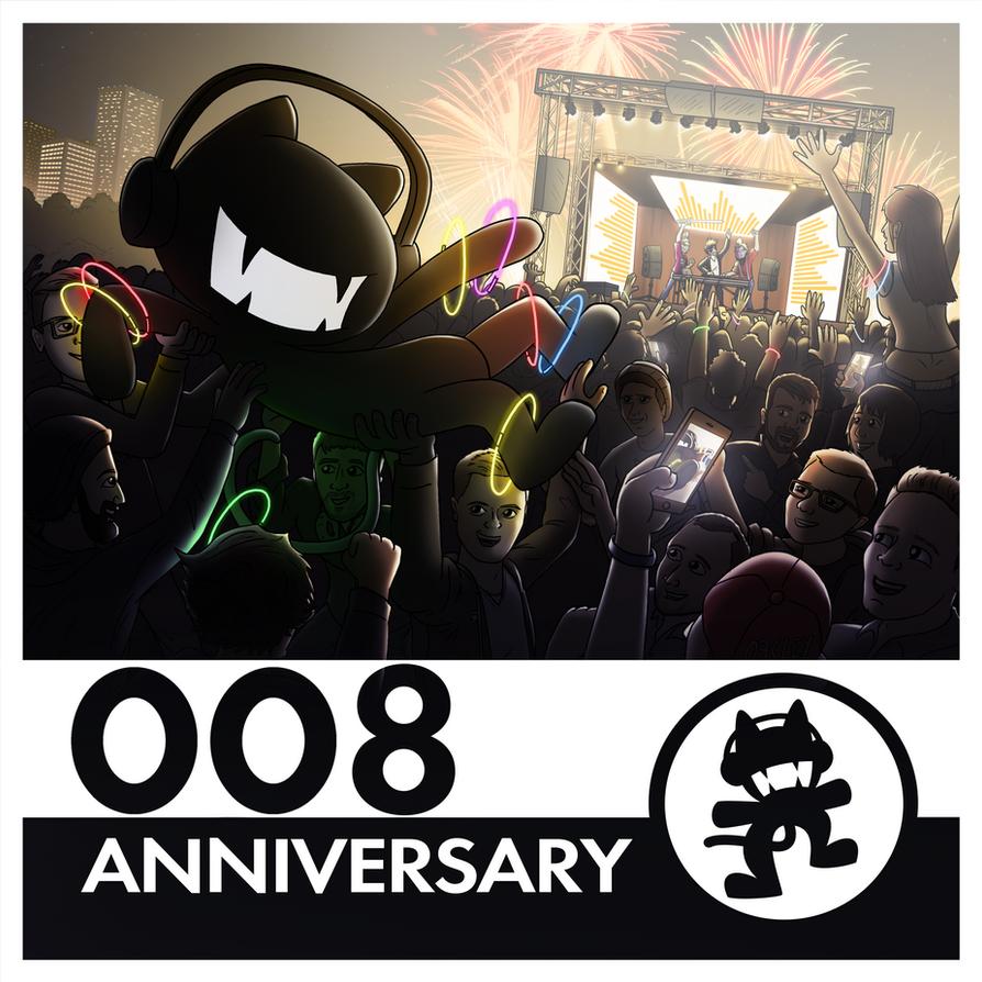 Monstercat Reimagined Album Art 008: Anniversary by petirep