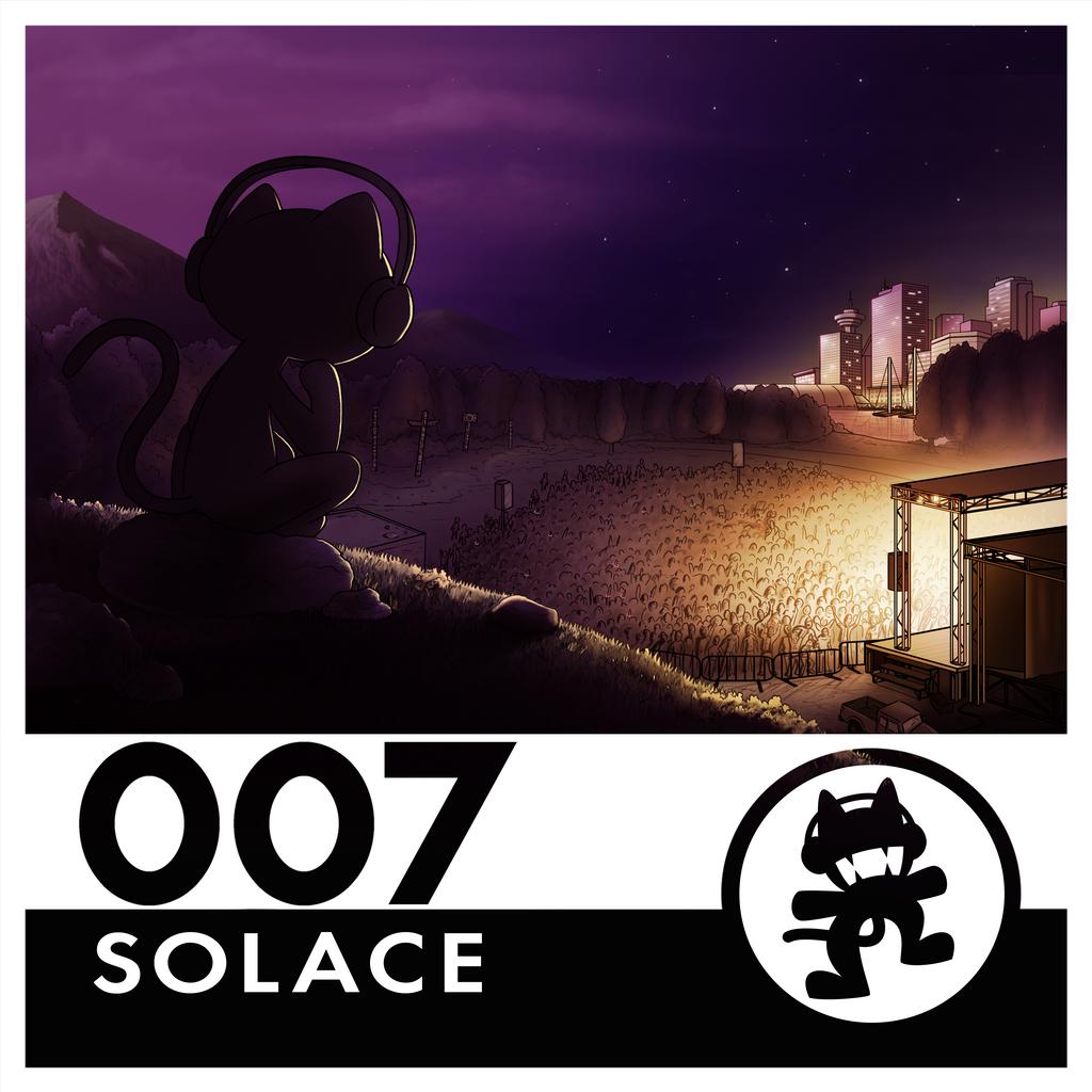 Monstercat Reimagined Album Art 007: Solace by petirep
