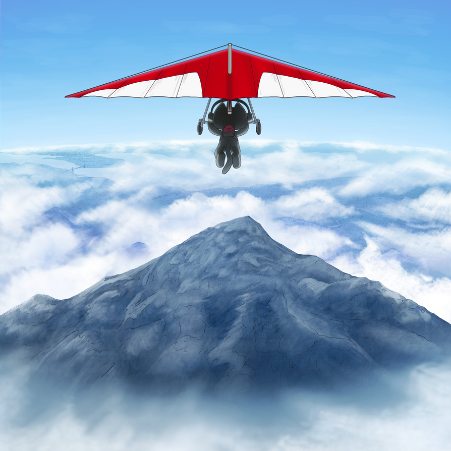 Unused Monstercat 020: Altitude Art by petirep
