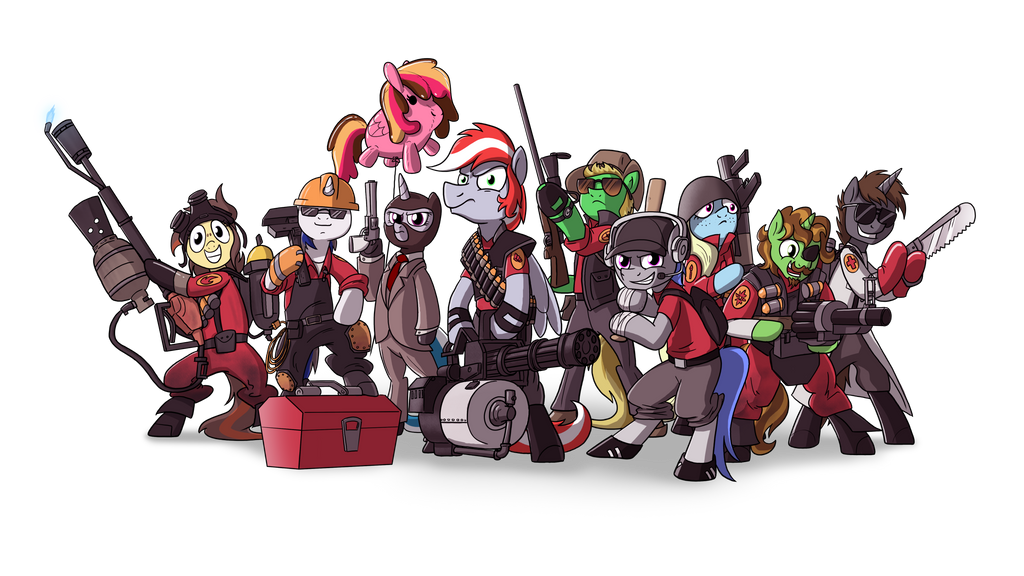 Crystal Moutnain Pony Con - TF2 OCs by petirep
