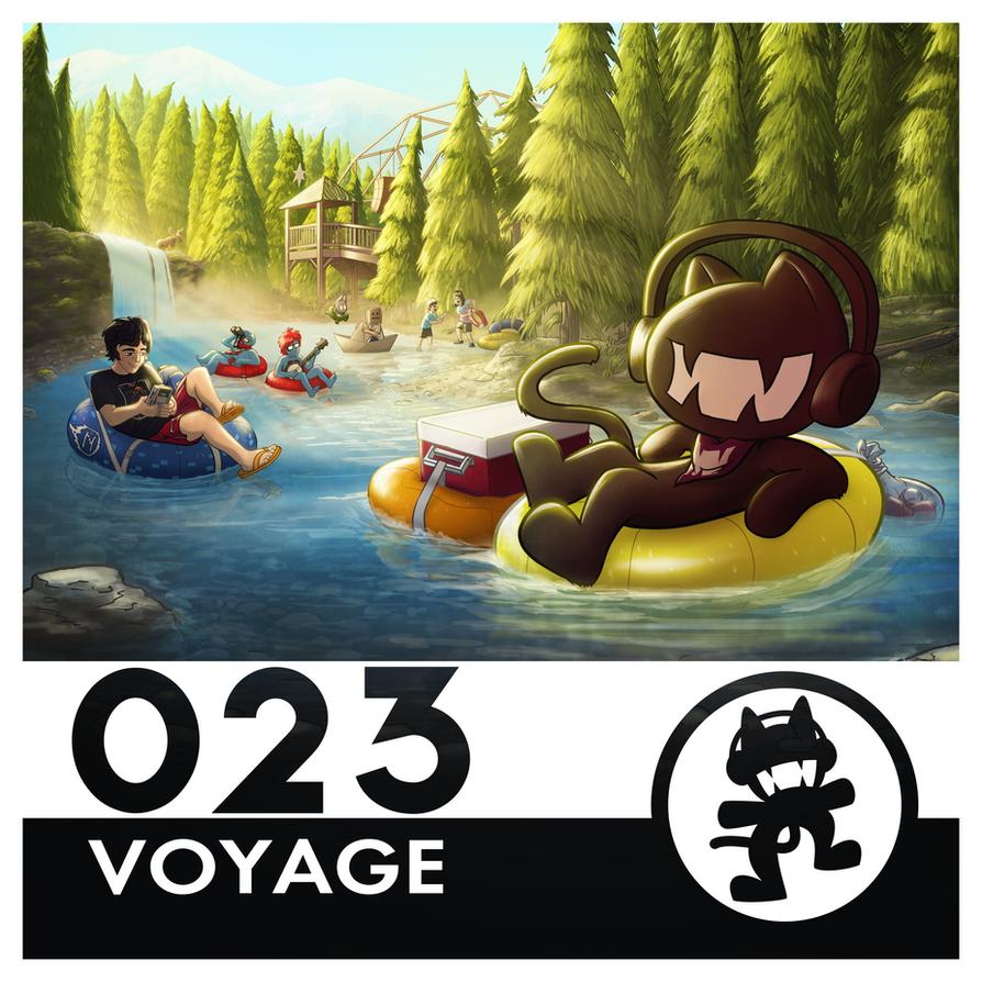 Monstercat Album Cover 023: Voyage by petirep