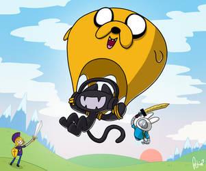 Monstercat: Adventure Time by petirep