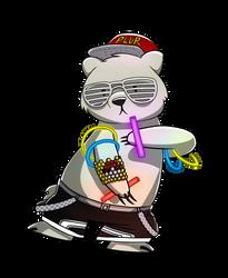 Rave Bear by petirep
