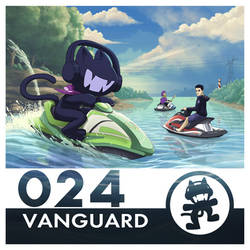 Monstercat Album Cover 024: Vanguard by petirep