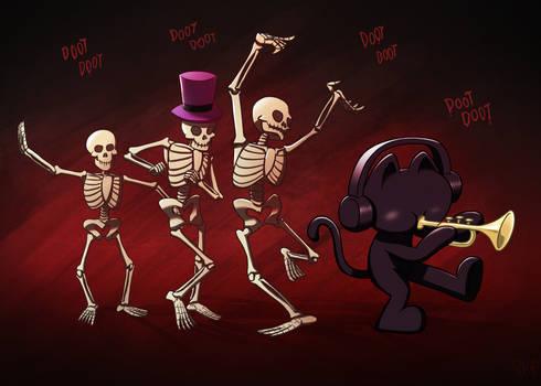 Monstercat Spooky Halloween Skeletals