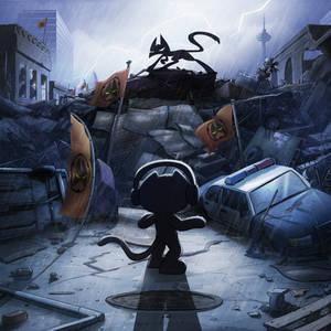Monstercat Album cover 025: Threshold