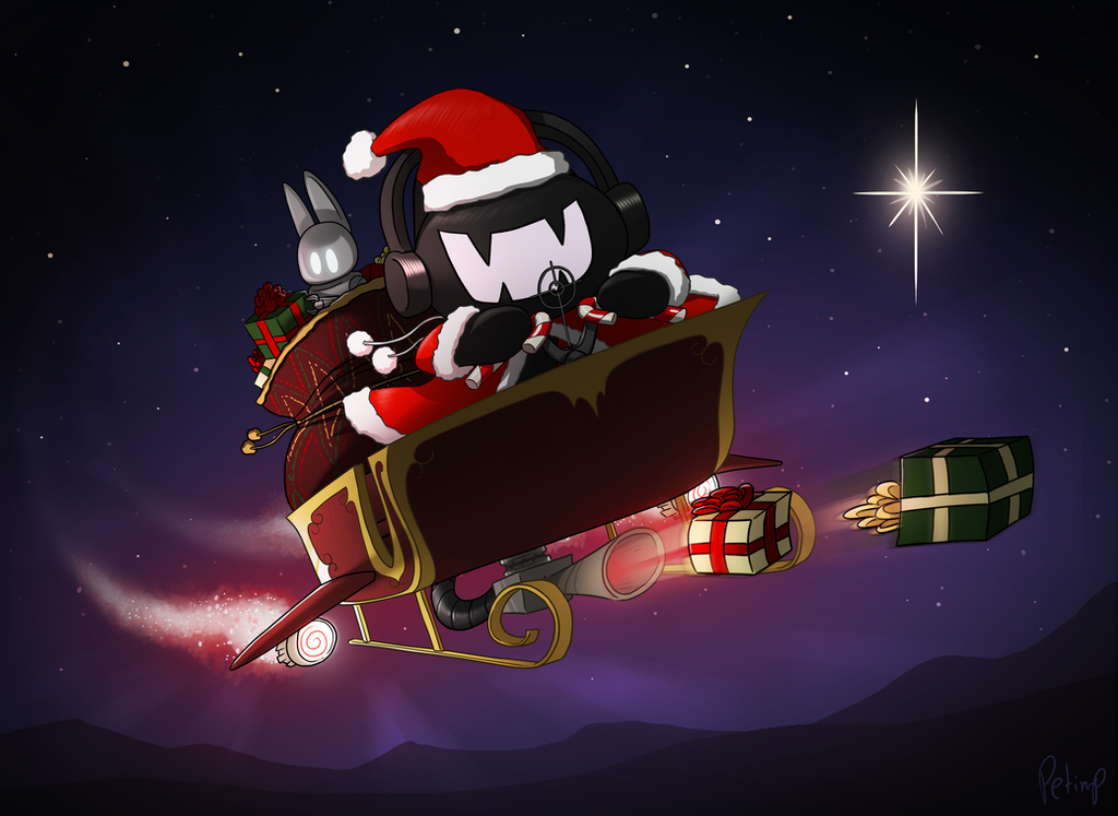 Monstercat - Christmas 2015 by petirep