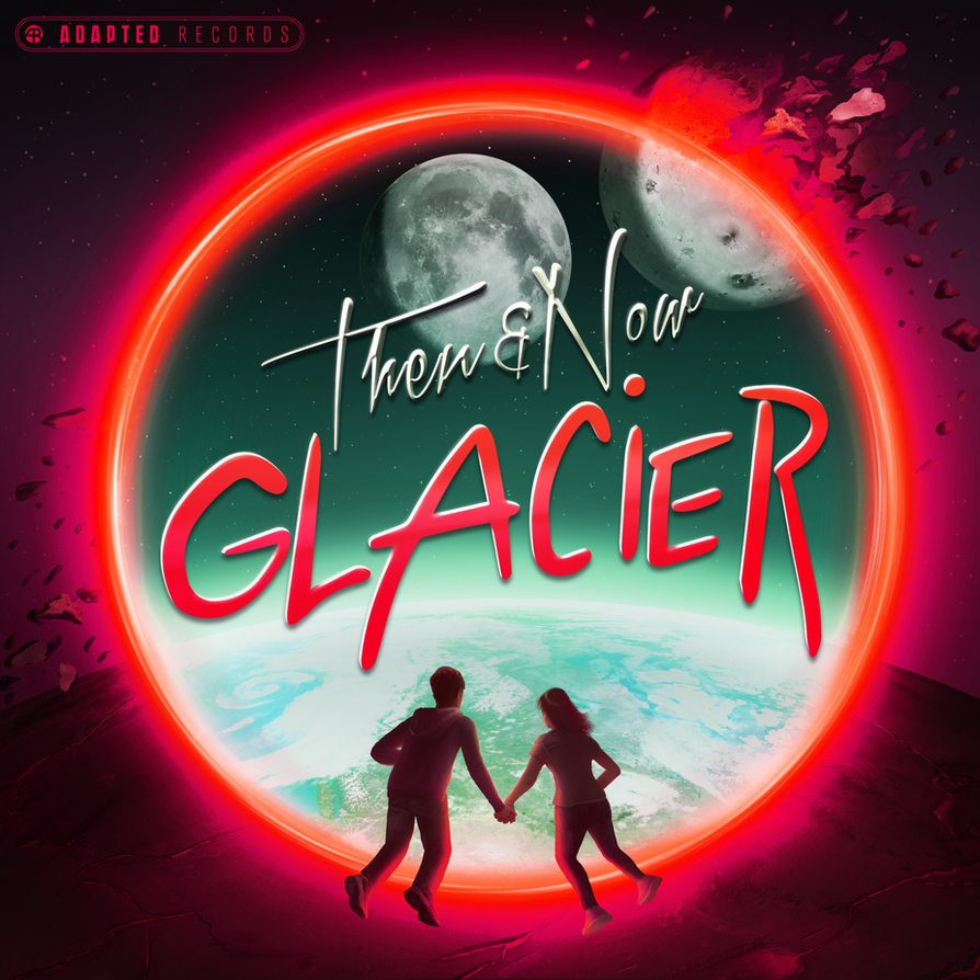 Glacier - 'Then and Now' EP Album Cover by petirep