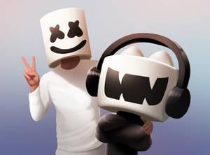 Marshmello - Monstercat Promo Art