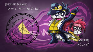 Funky Panda Youtube Art - February 2017