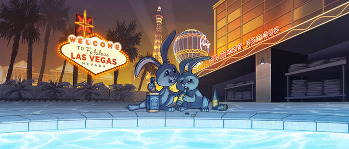 Vegas Bunnies - 'Almost Famous'