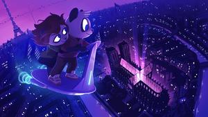 Funky Panda YouTube Art - May 2019