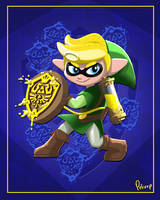 SplaToon Link (Linkling?)