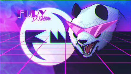 Funky Panda Heatwave Art 11 - July 2019