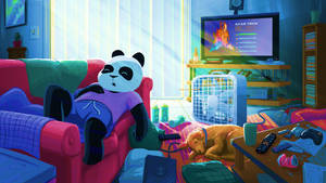 Funky Panda Youtube Art - May 2019