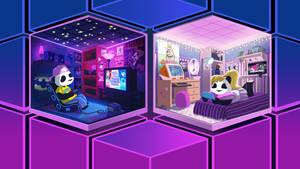 Funky Panda Youtube Art - April 2020