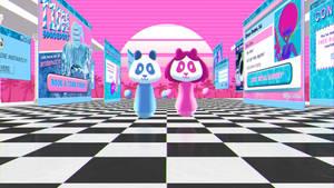 Funky Panda Youtube Art - Heatwave: July 2020