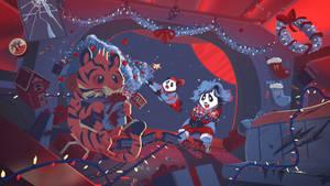 Funky Panda Youtube Art - December 2020