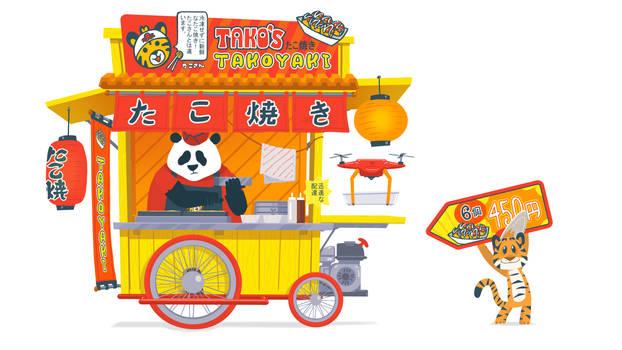 Funky Panda Youtube Art - January 2021